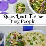 Healthier Quick Lunch Tips