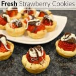Fresh Strawberry Cookies