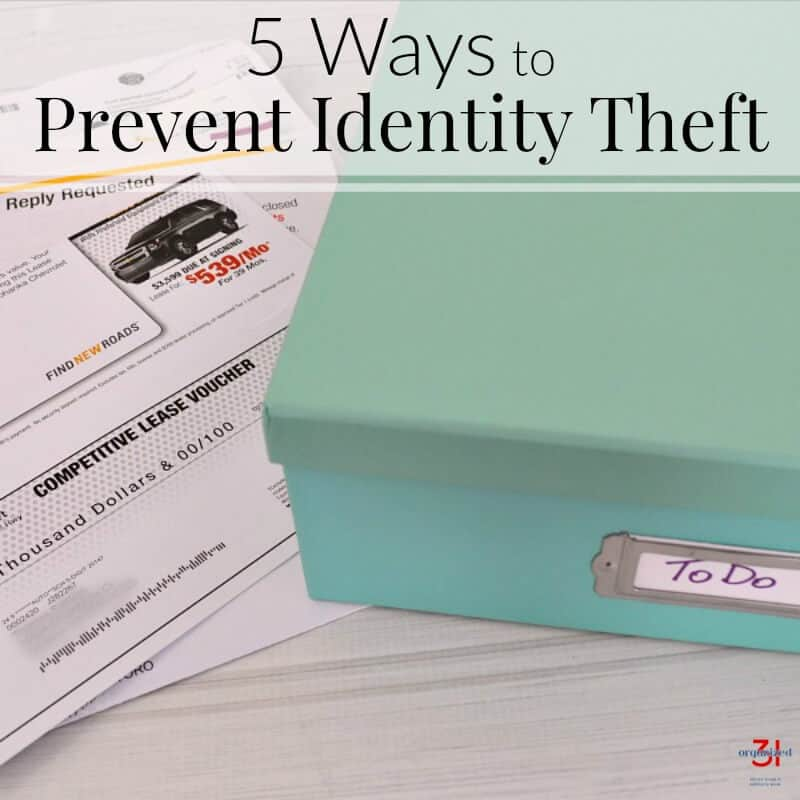 5 Ways to Prevent Identity Theft and Get Organized in the Home Office [ad] @Fellowes