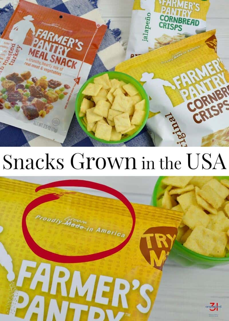 Farmer's Pantry snacks are delicious and grown by American farmers. Made in the USA [spon]
