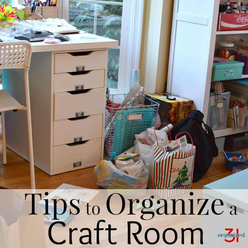 Library Card Drawers To Organize A Craft Room