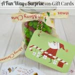 Surprise Gift Cards Christmas Gifts