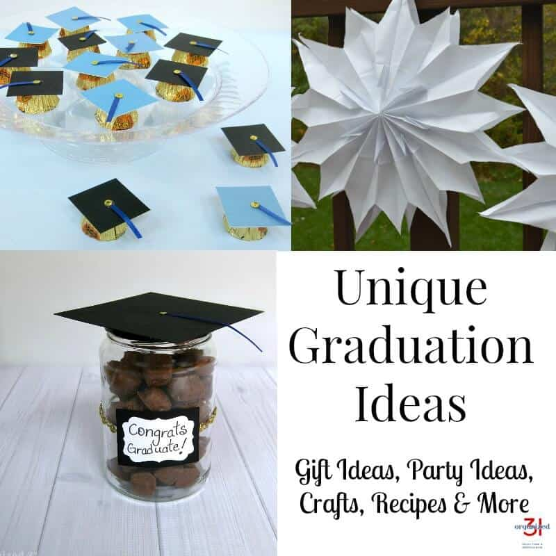 Make celebrating graduation special and memorable with unique graduation ideas, including gift ideas, party ideas, crafts, recipes and more.