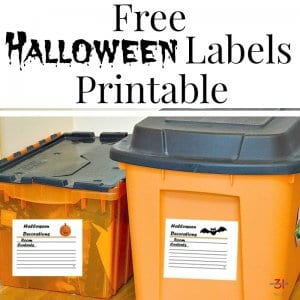 Free Halloween Labels Printable