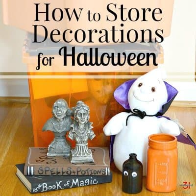 How to Store Decorations – Halloween