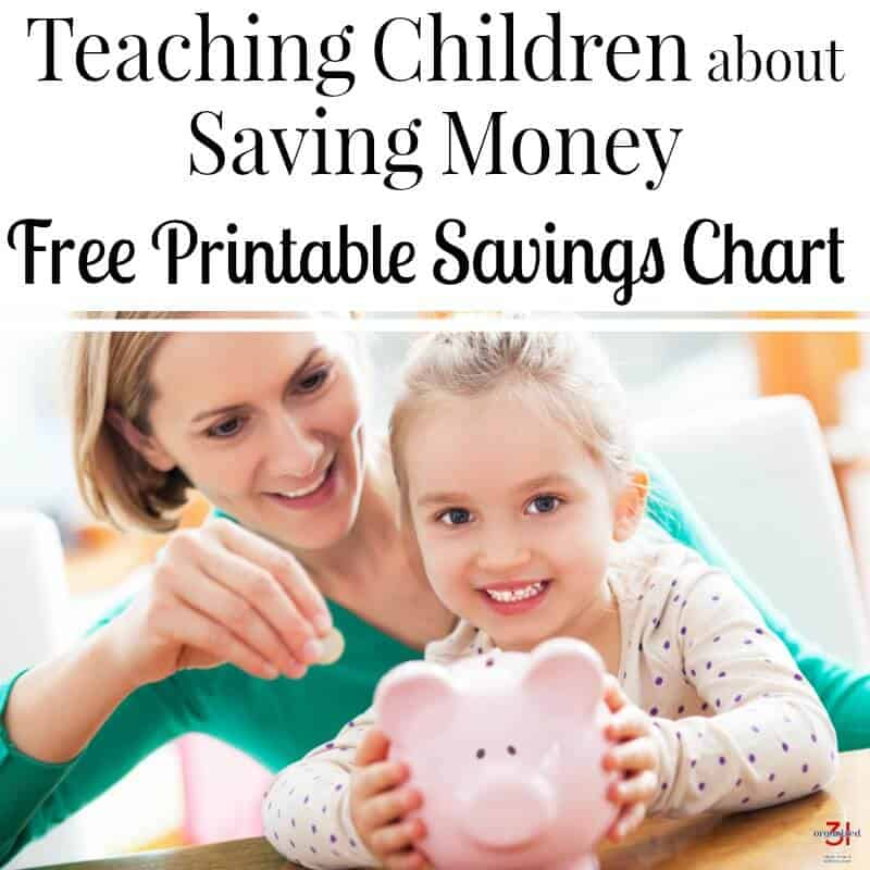 image of mother and daughter with piggy bank teaching to save money