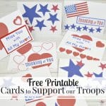 red white and blue cards with text overlay