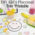 DIY Kid's Placemat