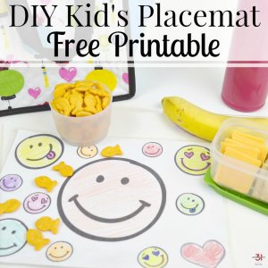 DIY Kid's Placemat