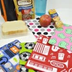 Kids' Cloth Napkins for Lunchbox
