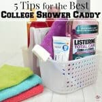5 Tips for the Best Shower Caddy in College