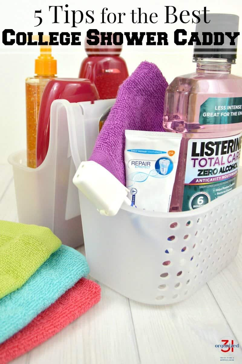 5 Tips For The Best Shower Caddy In College Organized 31