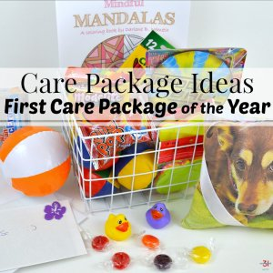 Care Package Ideas for the First College Care Package
