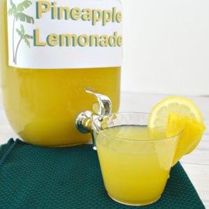 Easy Pineapple Lemonade Recipe