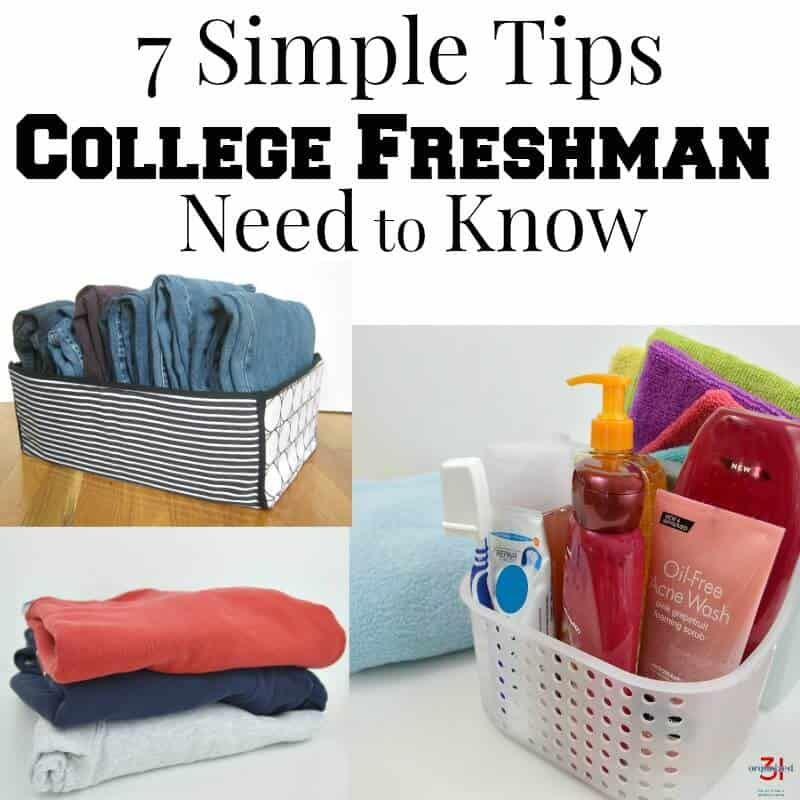 Entering college is both exciting and daunting. These 7 simple tips for college freshman are no-cost and will help make college life easier, more organized, better and more enjoyable. #SkinEssentials [ad]