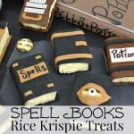 5 small spell book treats with text overlay