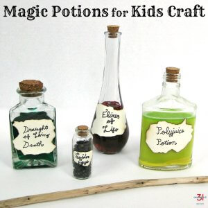 Magic Potions for Kids Craft
