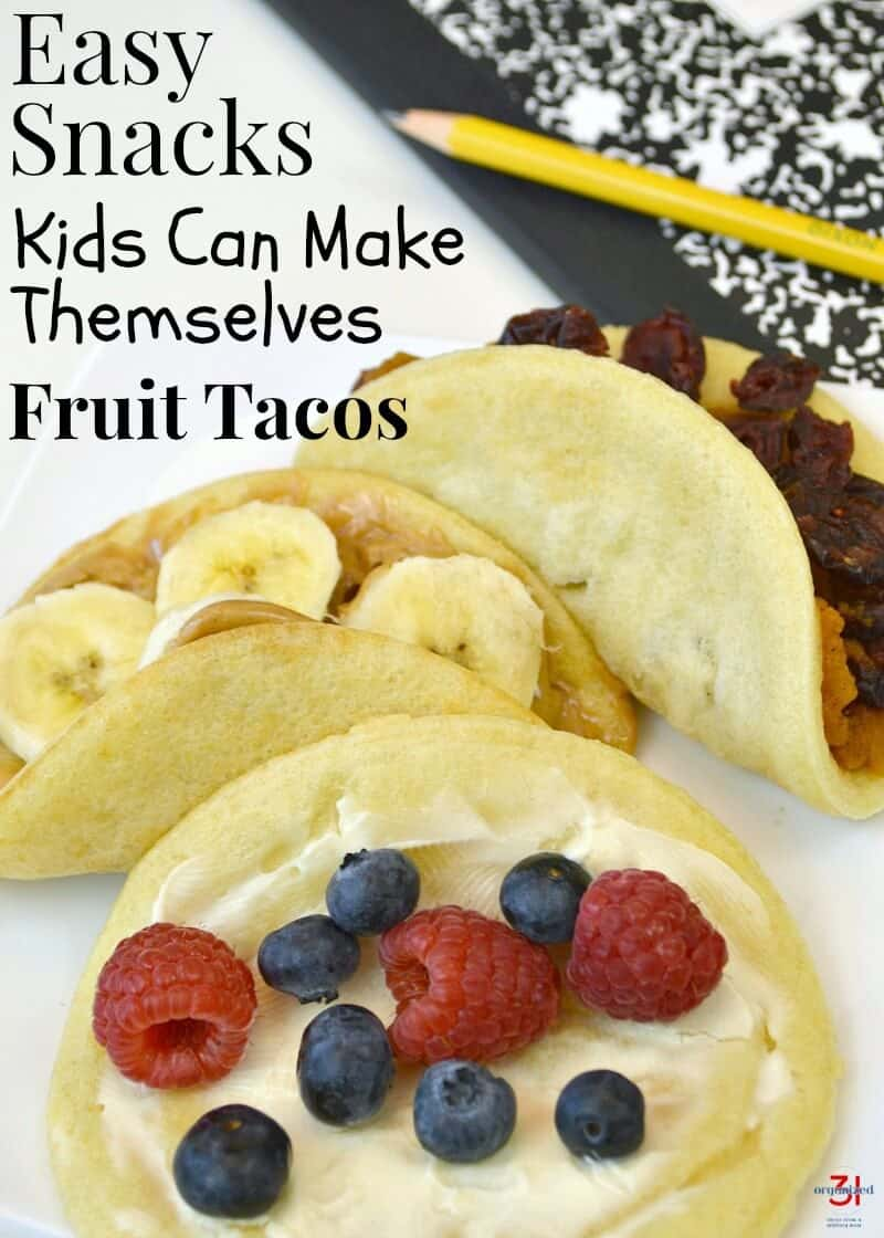 Delicious and easy snacks kids can make themselves. A great way to teach independence & life skills with after-school snacks that your kids will love. #LeggoMyEggo #HearTheNews [ad]