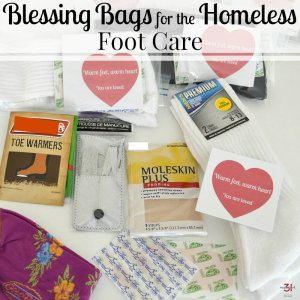 Blessing Bags for the Homeless- Foot Care