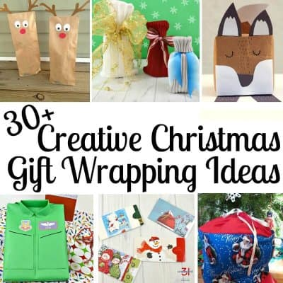 30+ Creative Christmas Gift Wrapping Ideas
