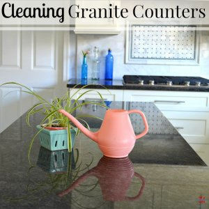 Cleaning Granite Counters