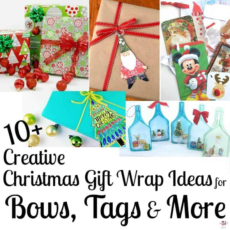 10 creative christmas gift wrapping ideas for bows tags more make gifts