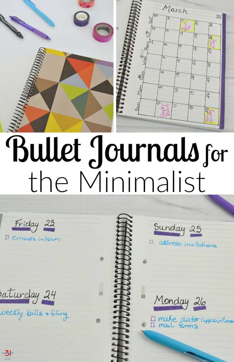 Using a bullet journal to do list keeps your life running smoothly and prevents the stress of forgetting important dates or tasks. Use these simple bullet journal ideas for the minimalist or if you're new to bullet journaling. #bulletjournal