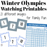 Family Olympics Game Watching Ideas