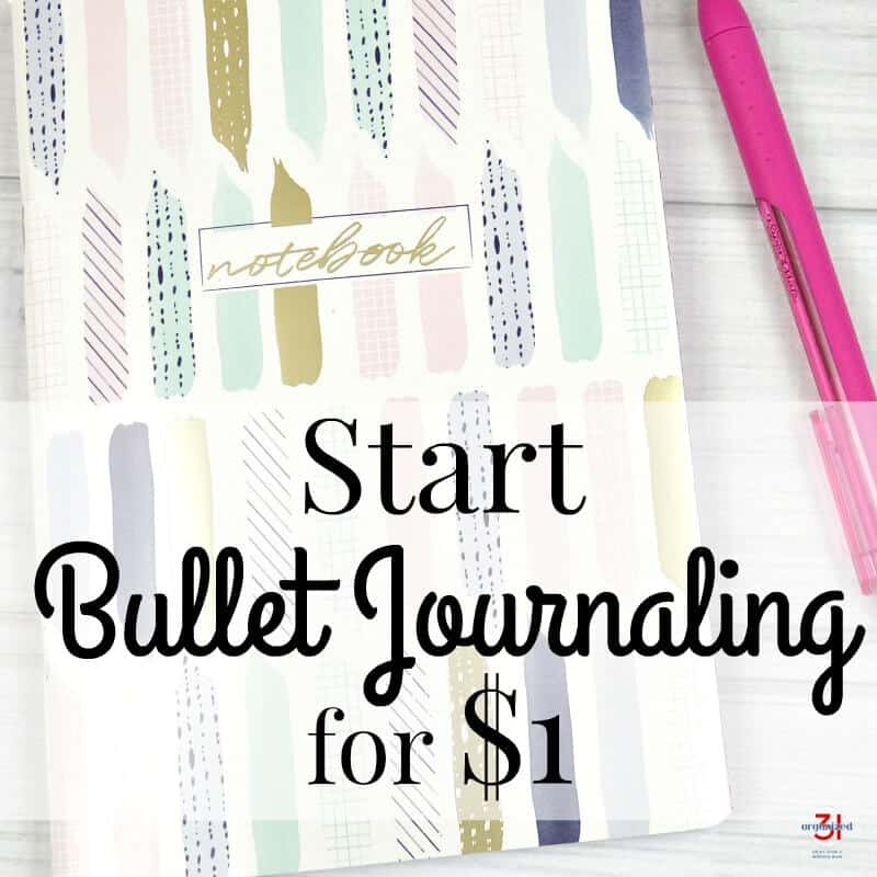 Do you want to start bullet journaling to see if it works for you? You should try it out and the benefits of personalizing it for your unique use. Try it out and start bullet journaling for about $1.