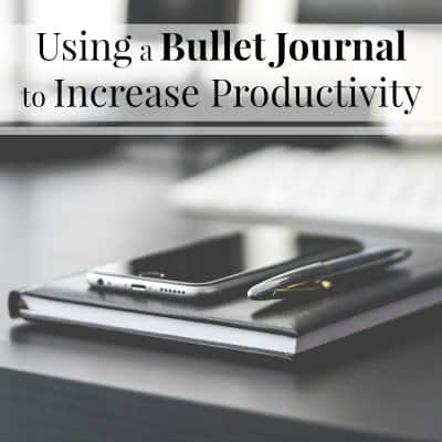 How to Use a Bullet Journal to Be More Productive