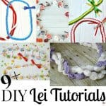 DIY Lei Tutorials & Instructions