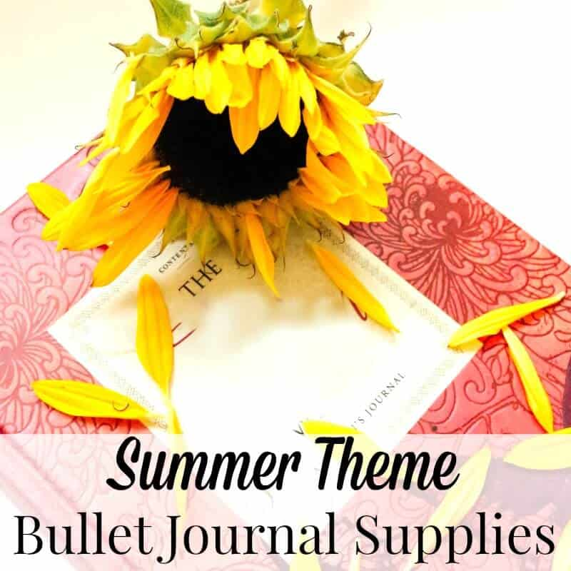 Looking for the perfect gift for yourself or someone who loves the summertime? Here are the best 50+ summertime bullet journal supplies including in summery themes: fruit, beach, ice cream, flowers and general summer images.