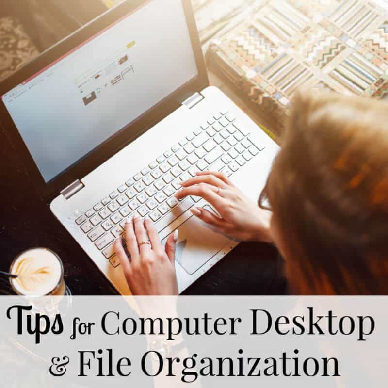 Looking for less stress, more time and less chaos? These tips for a more organized office will help with your computer desktop and file organization.