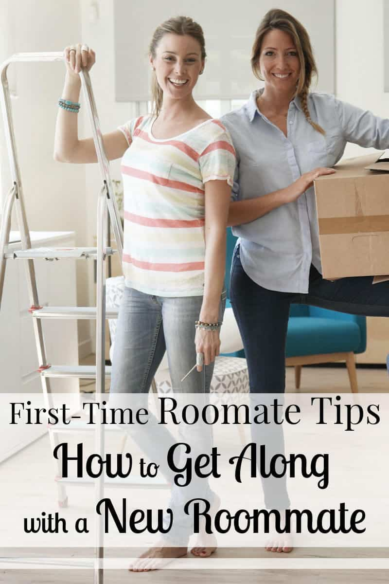 Make living with a first-time roommate work with these tips. It can be tough to share an apartment with roommates, but it you really can make it work.