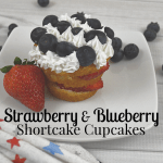 Shortcake Recipe with Strawberries & Blueberries
