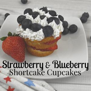 Shortcake Recipe with Strawberries & Blueberries