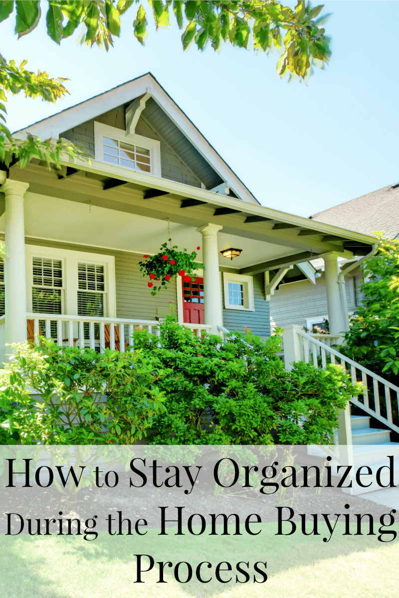 Buying a home doesn't have to be stressful when you know tips for how to stay organized during the home buying process. [sponsored]