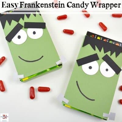 Halloween Ideas – Frankenstein Craft
