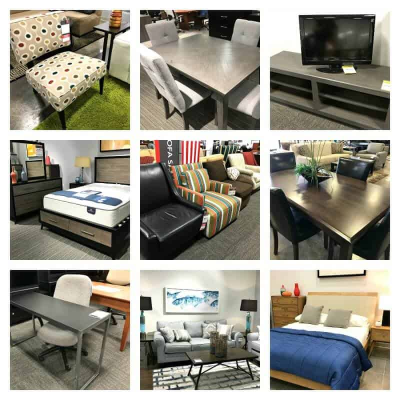 Collage of furniture rental options - 10 Military Family Moving Tips Everyone Can Use -Whether You're moving into your first place or across the country, it can go smoothly.