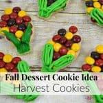 Fall Dessert Cookie Idea