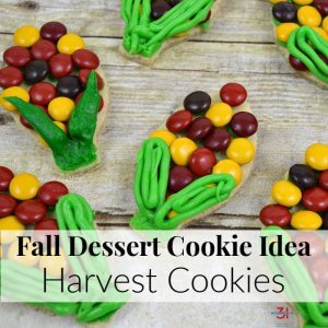 Fall Dessert Cookie Idea