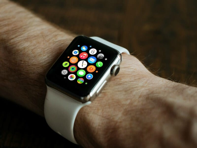 apple watch on wrist - A complete gift guide for the tech lover - 10 gift ideas they'll love for family and friends of all ages.