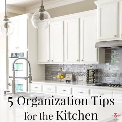 5 Organization Tips for the Kitchen