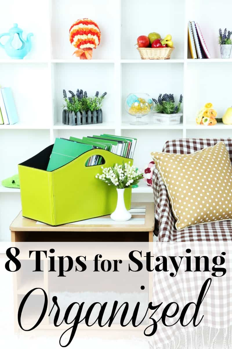 Life is hectic and can be incredibly stressful, but it doesn't have to be. These tips for staying organized will bring the order and peace we all want.