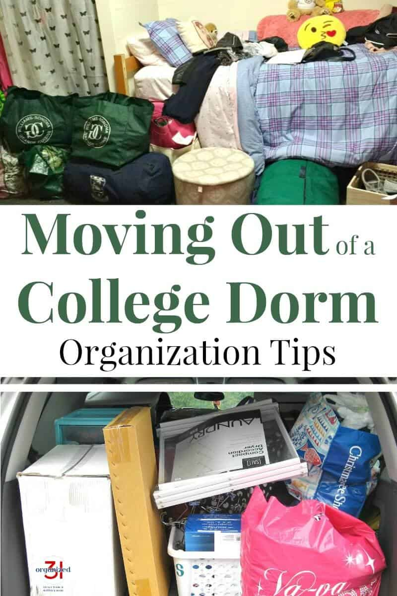 Make a chaotic time easier with these moving out of a college Dorm organization tips for packing and moving.