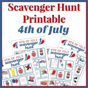 Scavenger Hunt Printable for the 4th of July