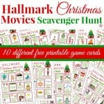 Hallmark Christmas Movies Scavenger Hunt