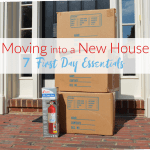 Moving into a New House – First Day Essentials