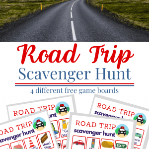 Road Trip Scavenger Hunt