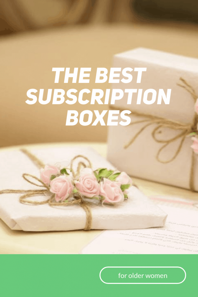 close up of white boxes with rustic twine and pink flowers and pink block of text